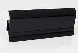 Плинтус Korner LP 60 Black Gloss